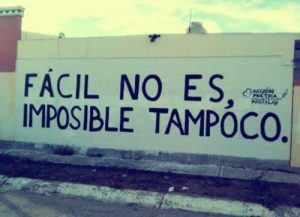 Imposible tampoco