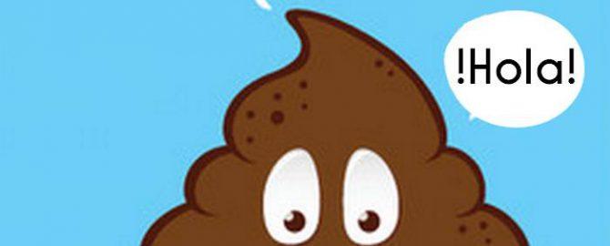 Hola poop emoji