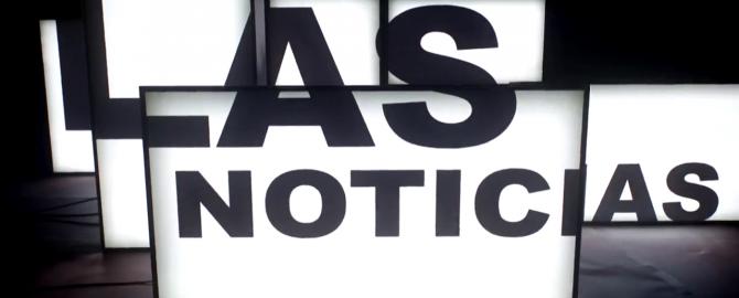 Las Noticias sign