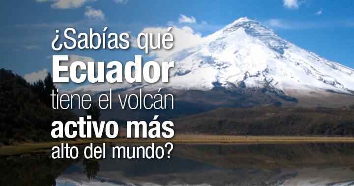 Ecuador volcano